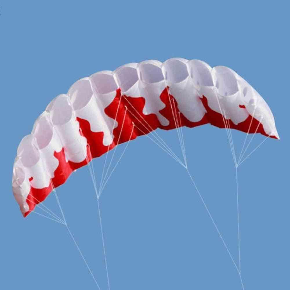 Rainbow Dual Line Kite Surfing Stunt Parachute