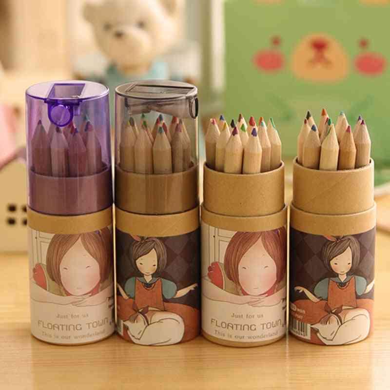 Pencil Set, Stationary Tool, Color Box Pencils