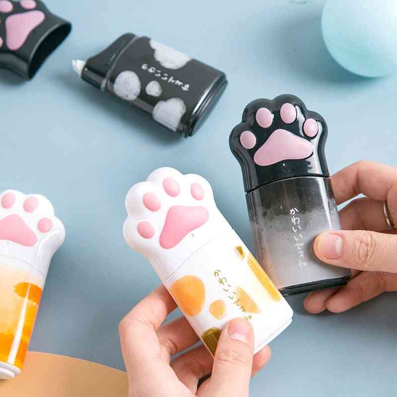 Kawaii Big Cat Claw Shape Cute Practical Correction Tape White Out Corrector Diary