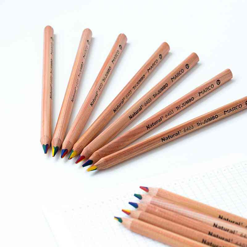 Rainbow Color Pencil For Kids