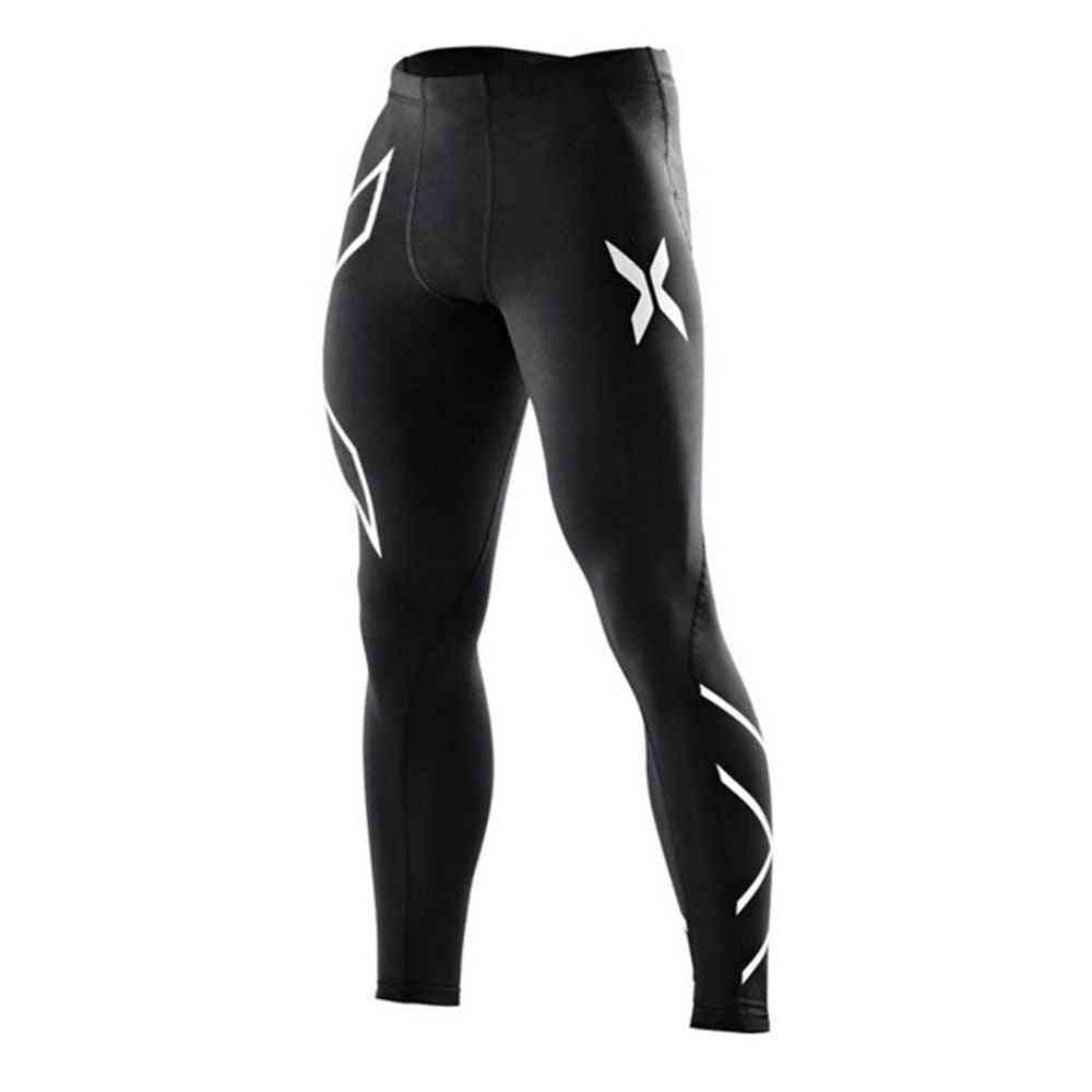 Men Running Tights Pants, New Gym Fitness Trousers