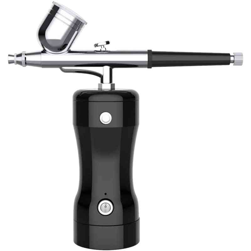 Cordless Airbrush, Airbrush Kit, Portable Hand-held Airbrush Can Be Used For Cosmetics, Cake Decoration, Art Drawing