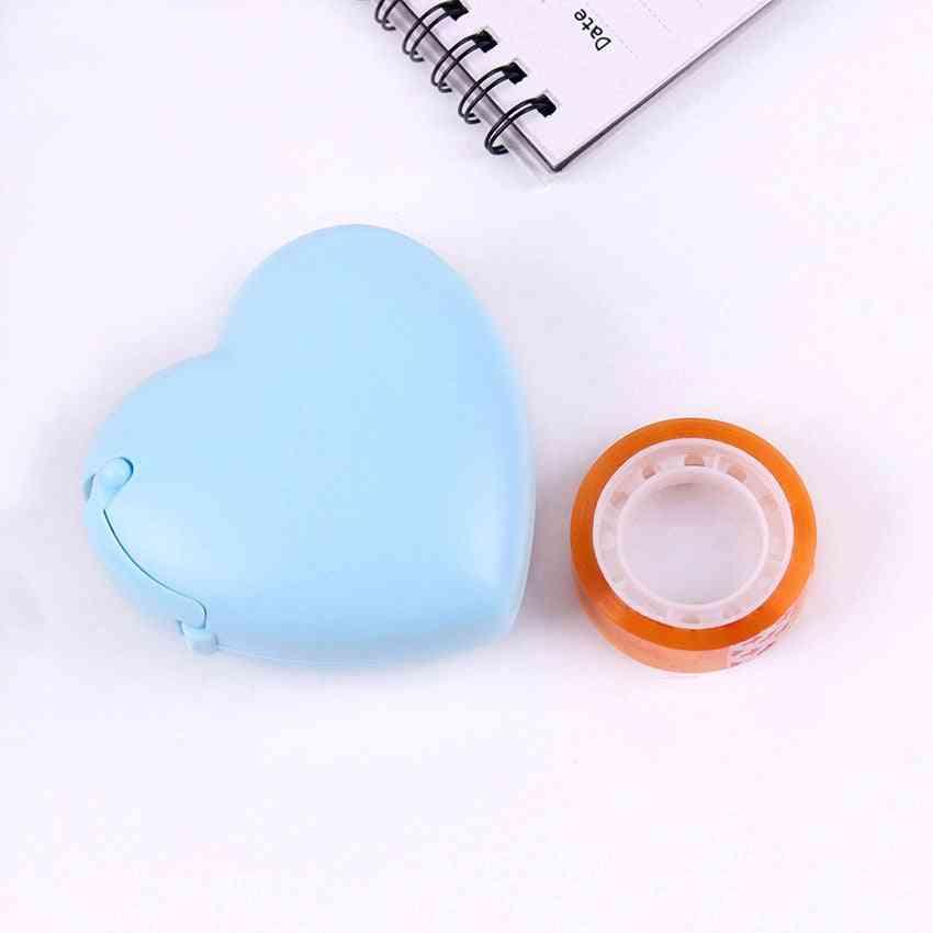 Love Shape Tape Dispenser Cutter Small Tape Machine