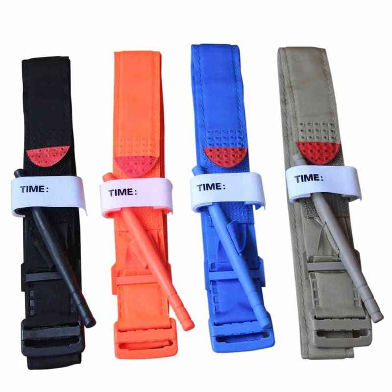Portable First Aid Quick Slow Release Buckle Medical Military Tactical Tourniquet