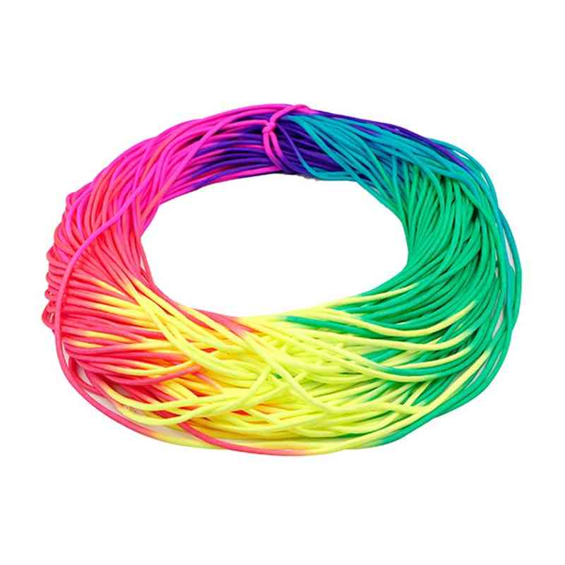 Colorful Rainbow Cord Parachute-cord Paracord Tie Dye Style Type Paracord