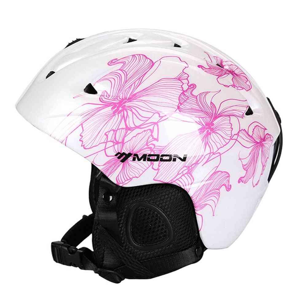 Moon Ski Safety Helmet Women+ Men+ Child Skateboard Skiing Snowboard