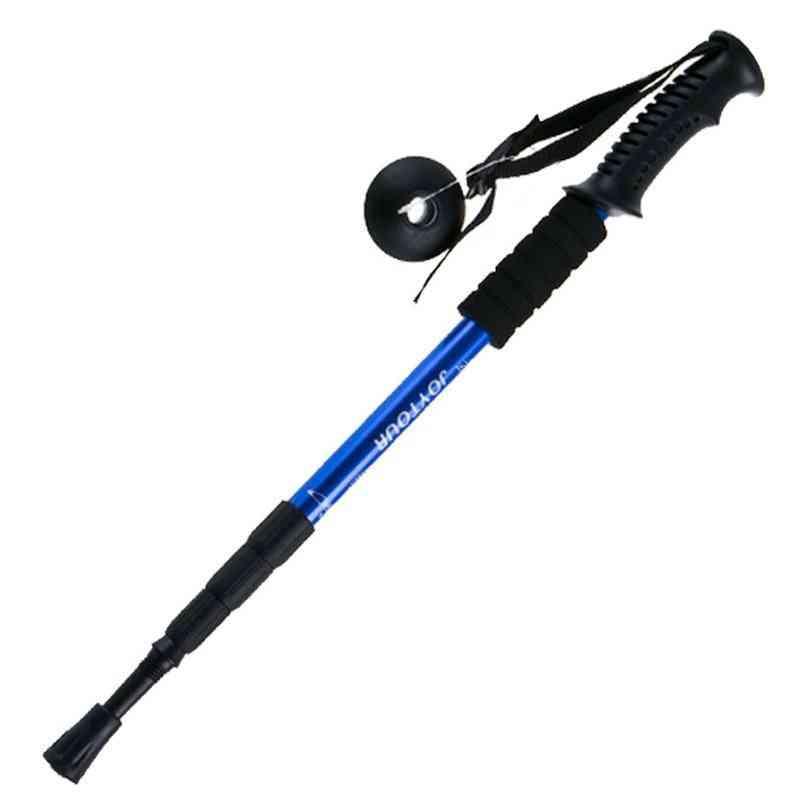 Ultra-light Walking Stick Adjustable Hiking Alpenstock