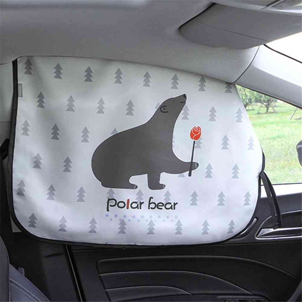 Magnetic Curtain In The Car, Window Sunshade Uv Protection For Kid, Baby