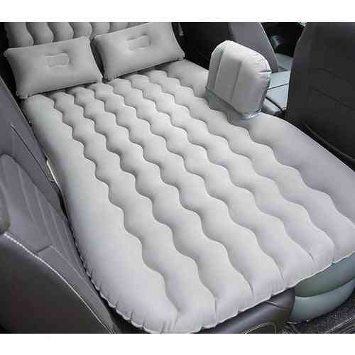 Inflatable  Car Back Seat Bed + Inflator Pump