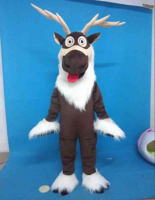 Adult Deer Mascot