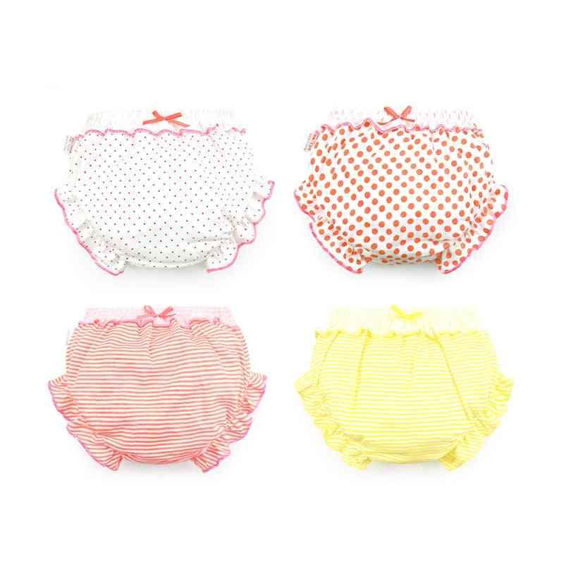 3 Piece/lot 100% Cotton Baby Panties, Briefs For Underwear