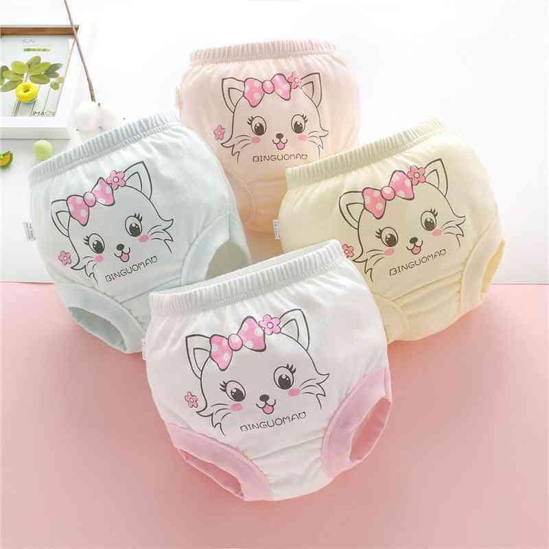 Baby Soft Cotton Panties, Girl Briefs Female For Underwear