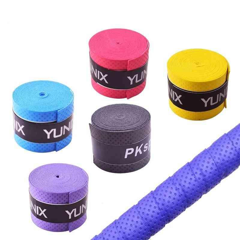 Dry Tennis Racket Grip Anti Skid Sweat Absorbed Wraps Taps Badminton