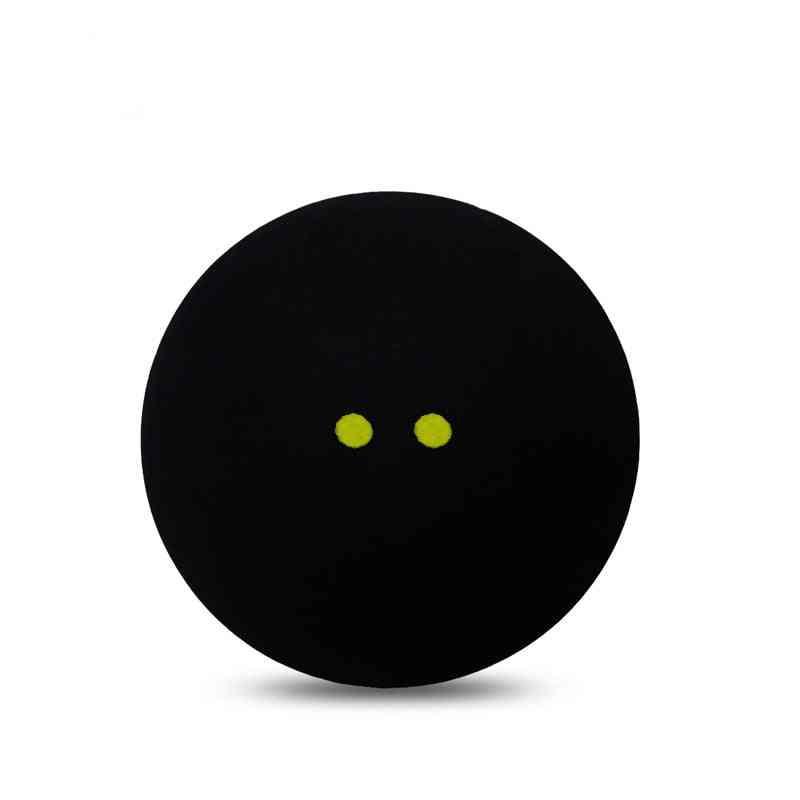 Two-yellow Dots Squash Durable Sports Balls