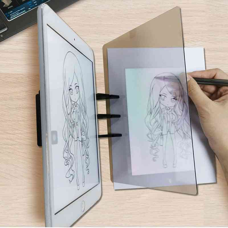 Drawing Copy Board Projector Holder, Imaging Optical Painting, Tracing Sketch Specular Reflection Dimming Bracket