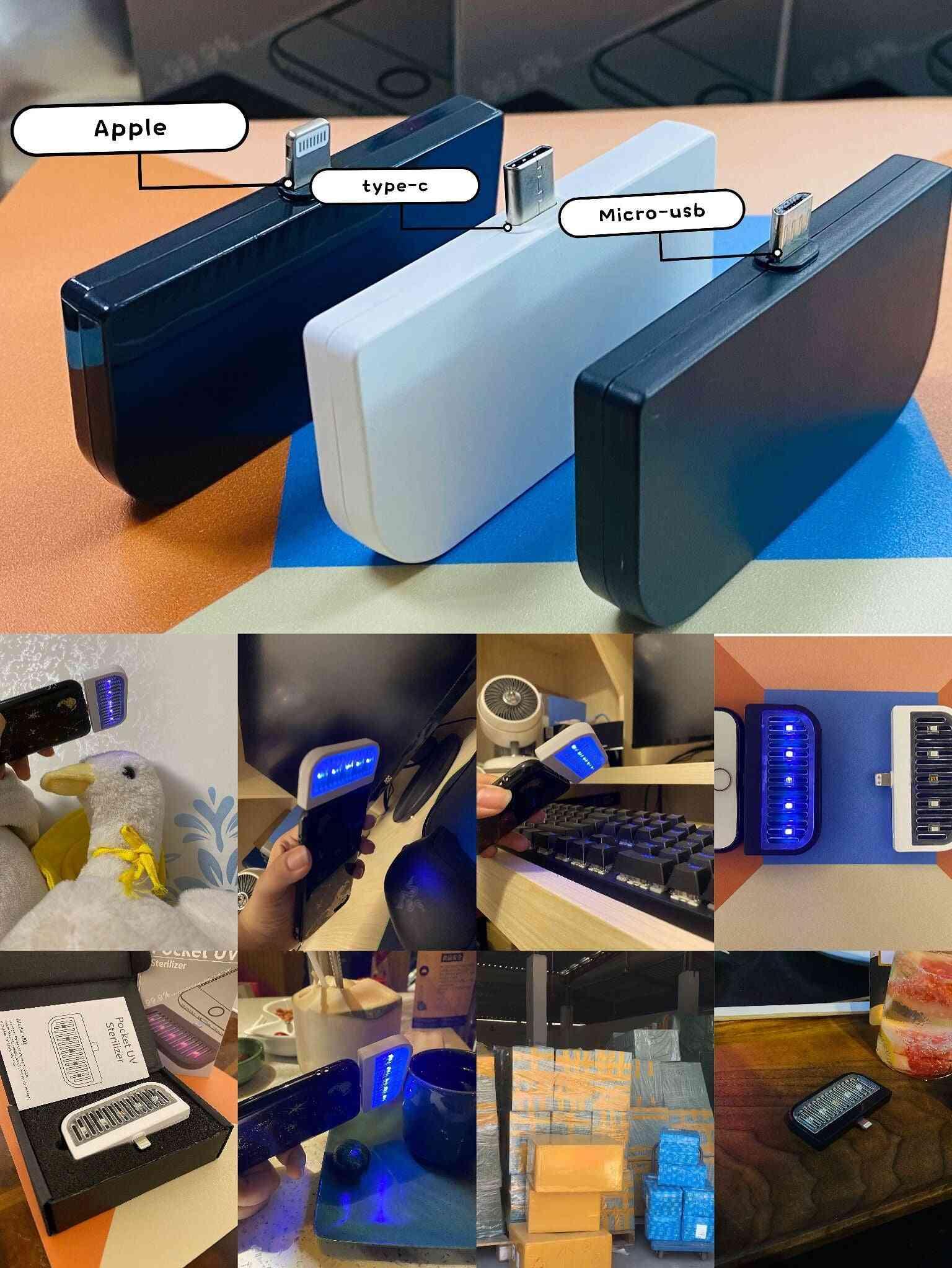 Pocket Uv Sterilizer For Cell Phones