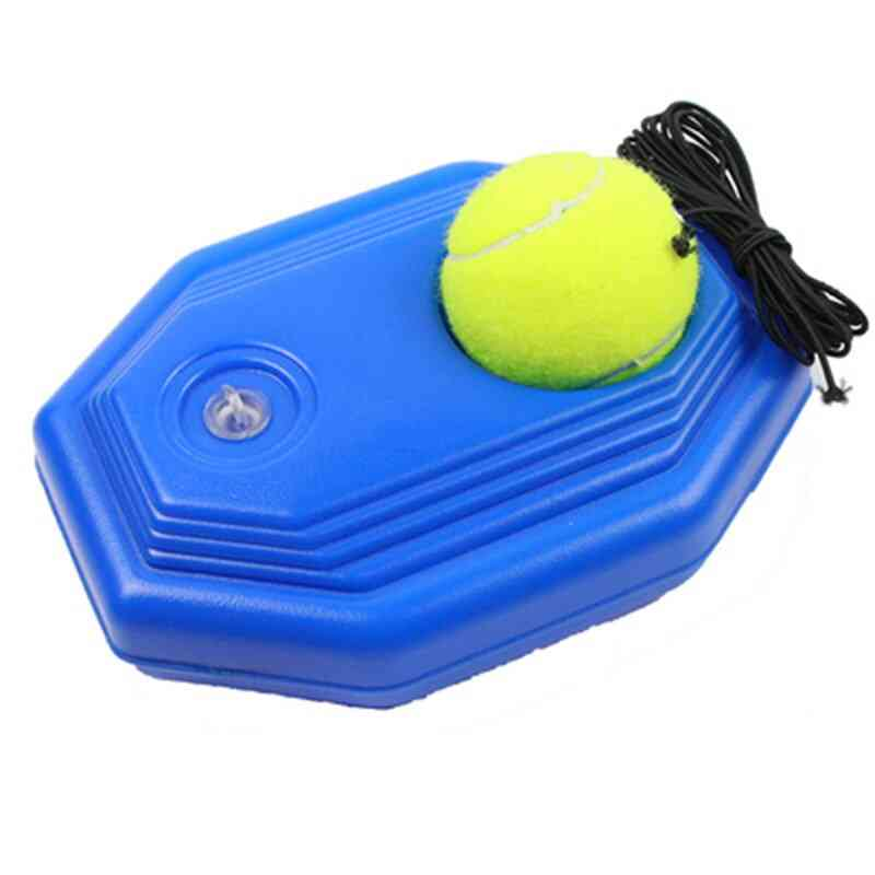 Rebound Tennis Ball Baseboard Sparring Device