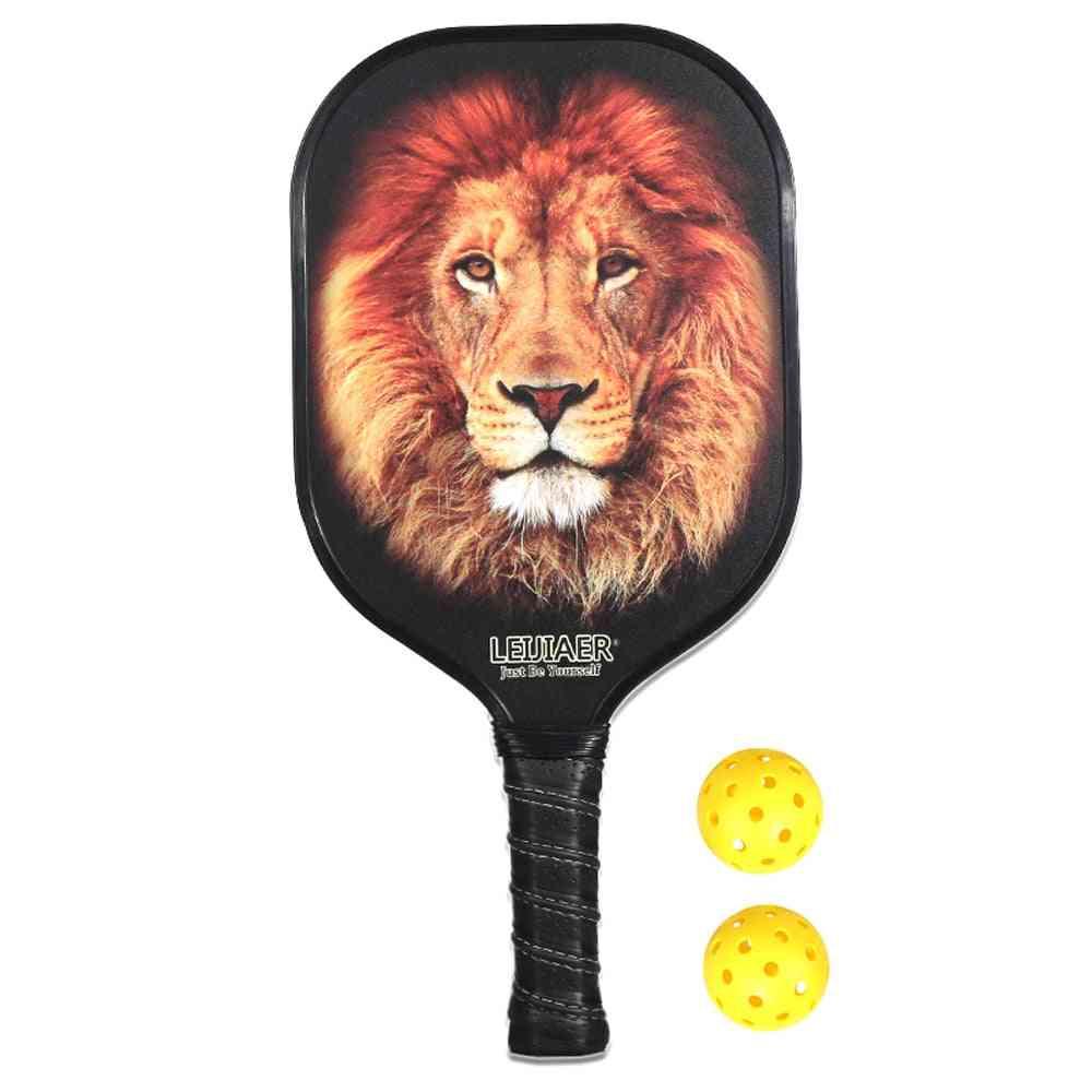 Carbon Fiber Peaks Rackets Carbon Fiber Pp Racket Pickleball Paddle Tennis Sports Ball Sports Squash Rackets