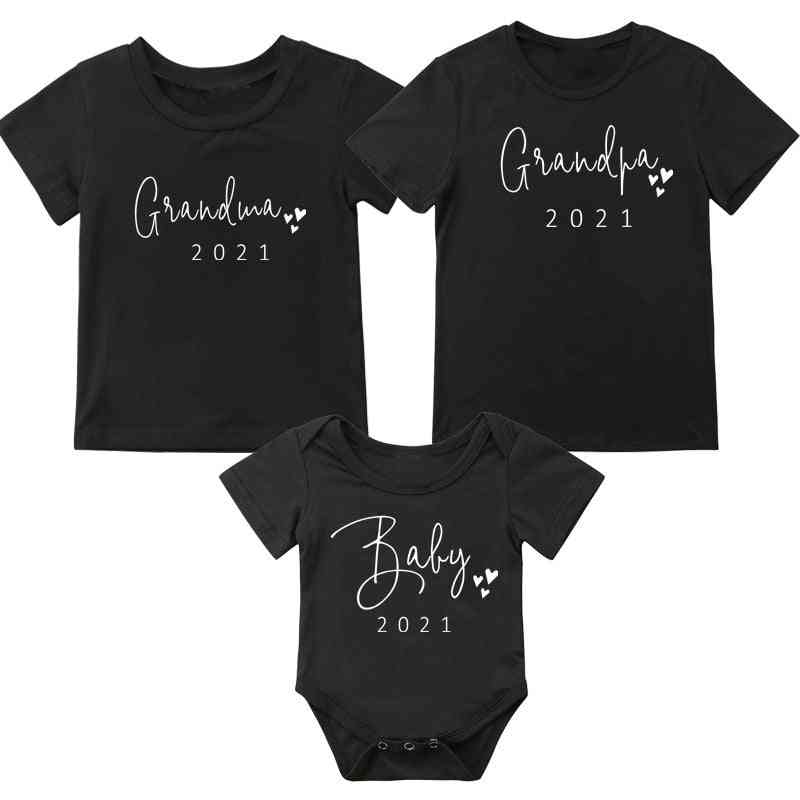New Daddy Mommy Baby T-shirt
