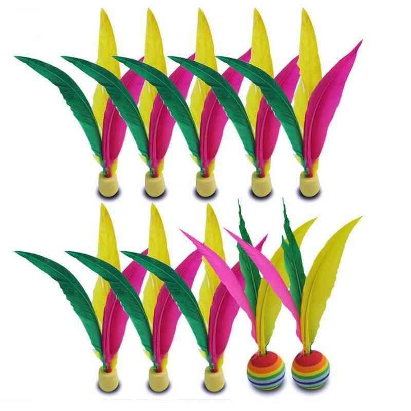 Three-hair Colorful Cricket Balls Sports Accessories