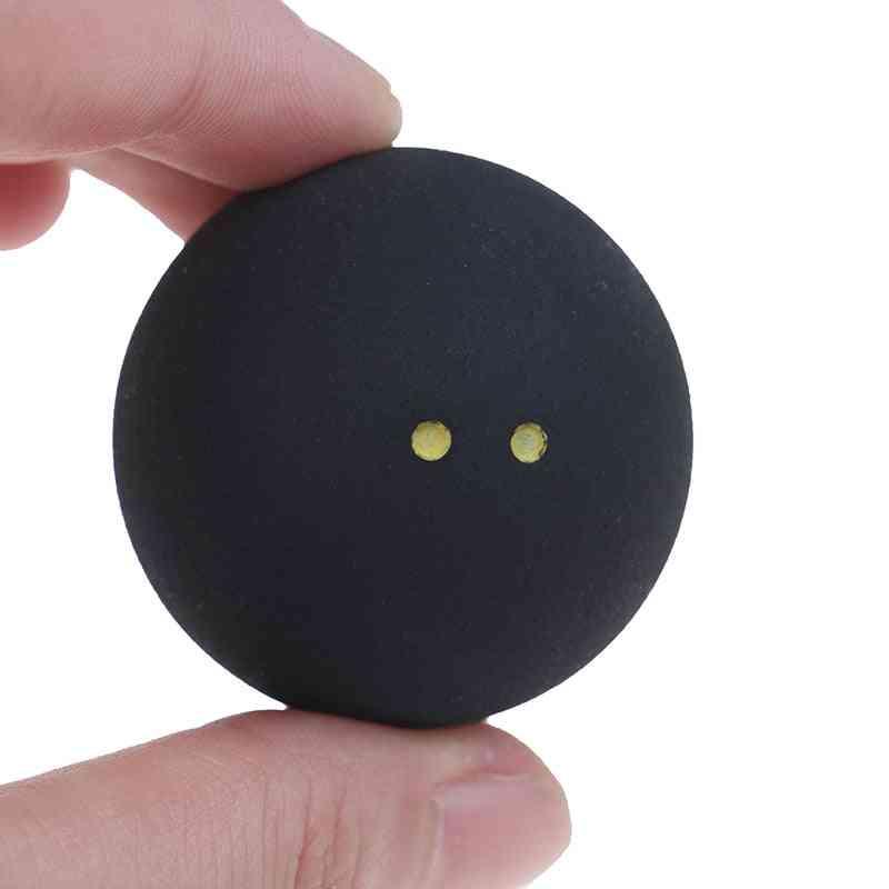 Squash Ball Two-yellow Dots