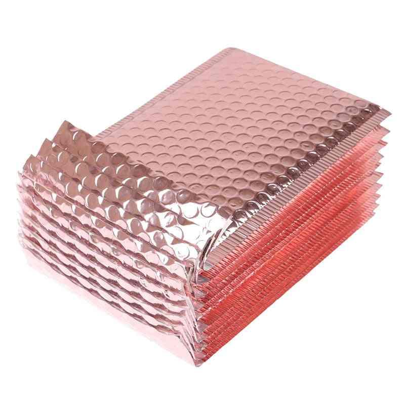 Rose Gold Foam Envelope Bags