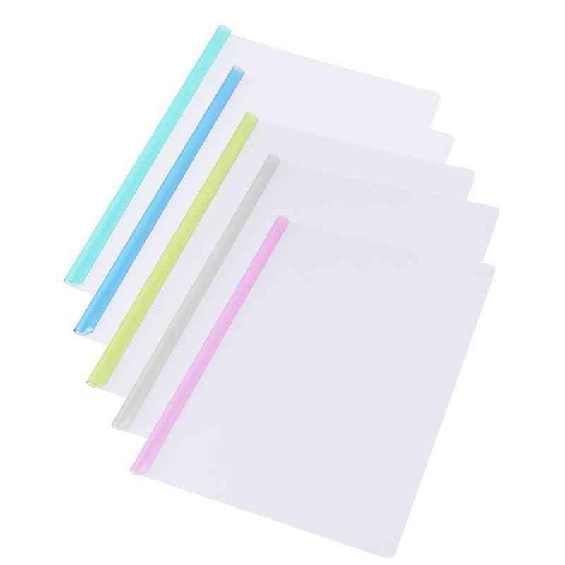 Sliding Bar Clamps  A4 File Folders