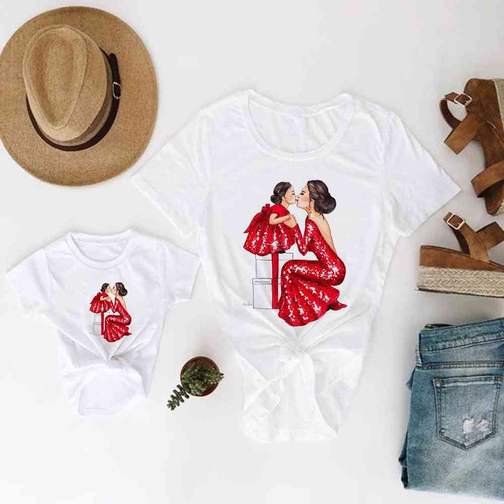 Mother And Daughter Clothes, Baby T-shirt, Pretty T-shirt