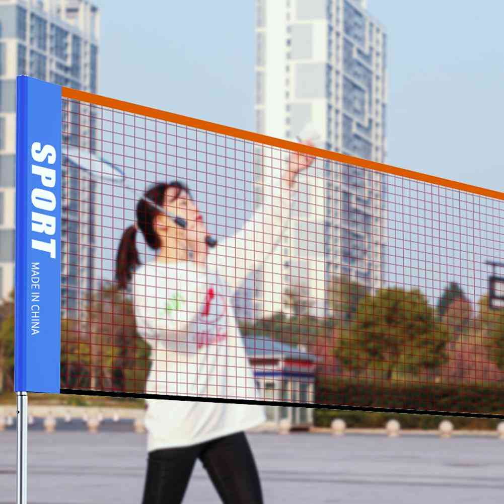 Portable 3-6 Meter Tennis Net Standard Tennis Net For Match Training Net Without Frame Tennis Racquet Sports Network Badminton