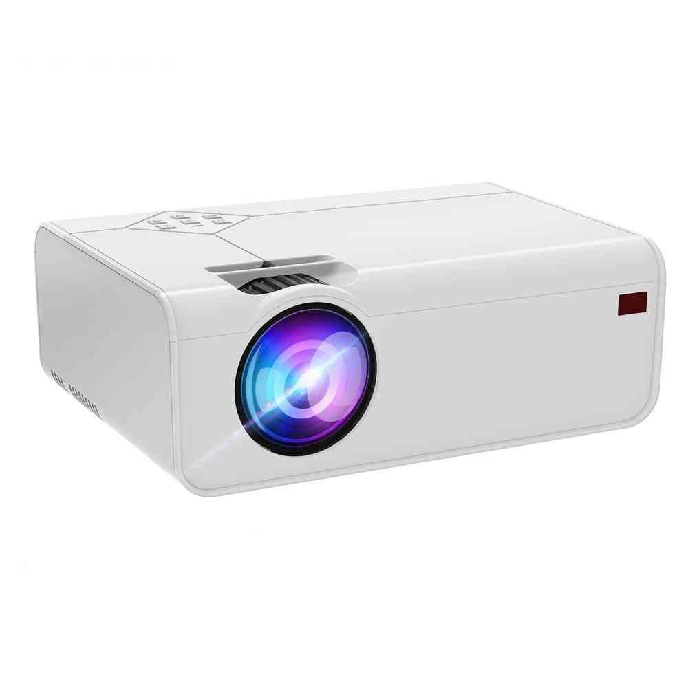 Mini Led Projector A13 1280*720p With Wifi Bluetooth 3d Video Support 4k Home Cinema