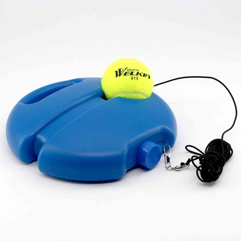 Welkin Tennis Training Device With Ball Single Training Device Practice Tennis Self-learning Rebound Device Sparsring Device