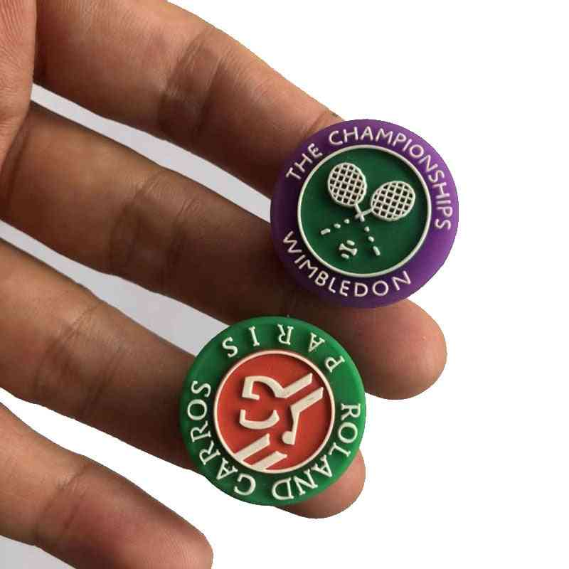 10pcs New Game Tennis Racket Damper Shock Absorber To Reduce Tenis Racquet Vibration Dampeners Raqueta