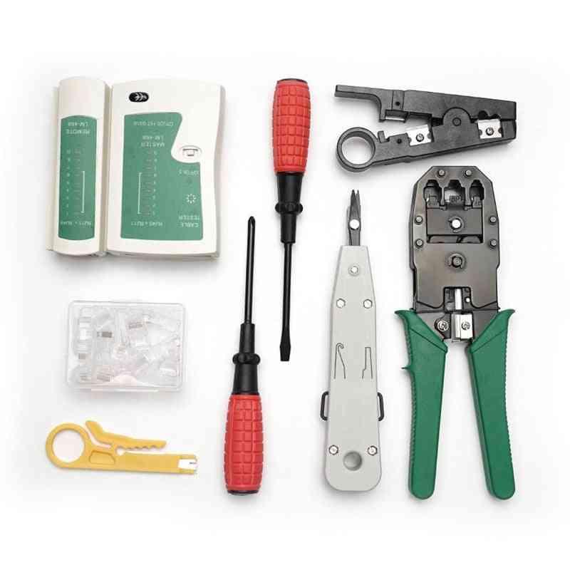Network Cable Repair Maintenance Tool Kit Set