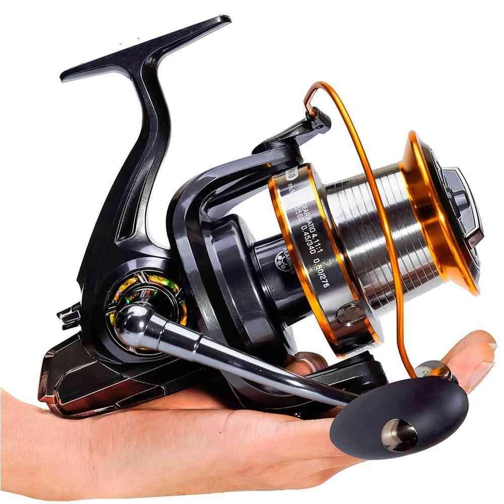 Big Strong Metal Spinning Carp Fishing Reels