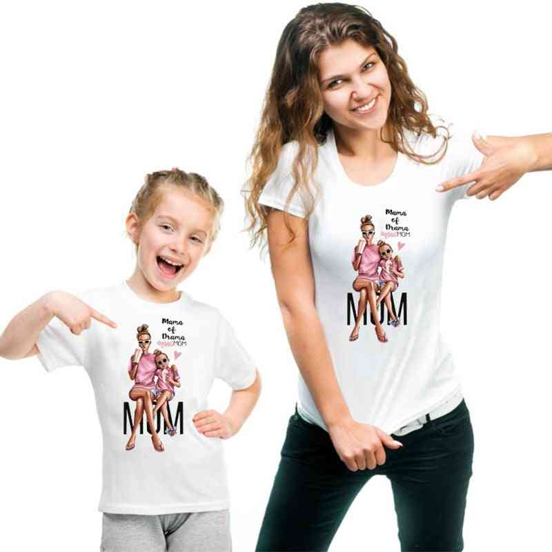 New Family Clothes, T-shirt For Mother And Baby