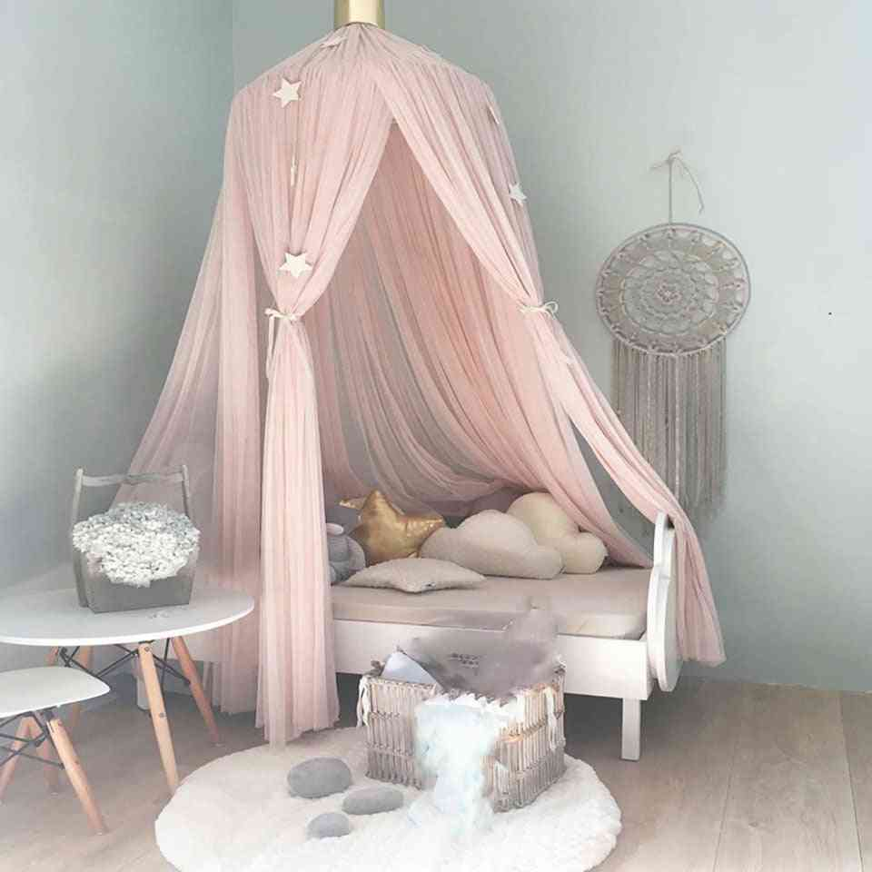 Baby Room Mosquito Net, Bed Hanging, Kids Tent, Crib Canopy, Tulle Curtains For Bedroom, Play House For Kids
