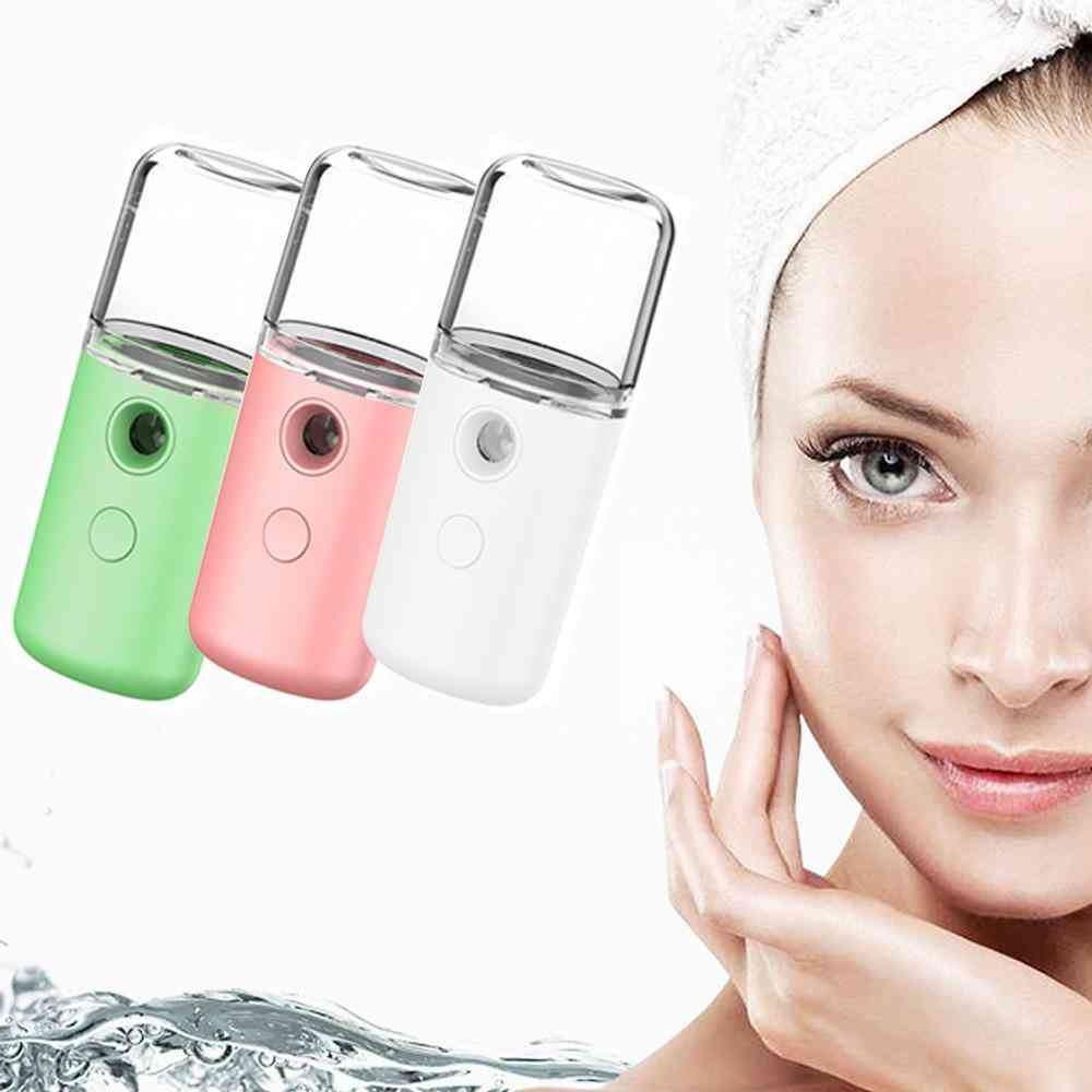 Usb Humidifier Rechargeable Nano Facial Mist Sprayer Face Nebulizer Sp