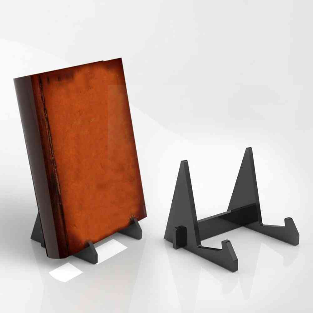 Acrylic Bookends Portable Book Display Stand And Document Holder