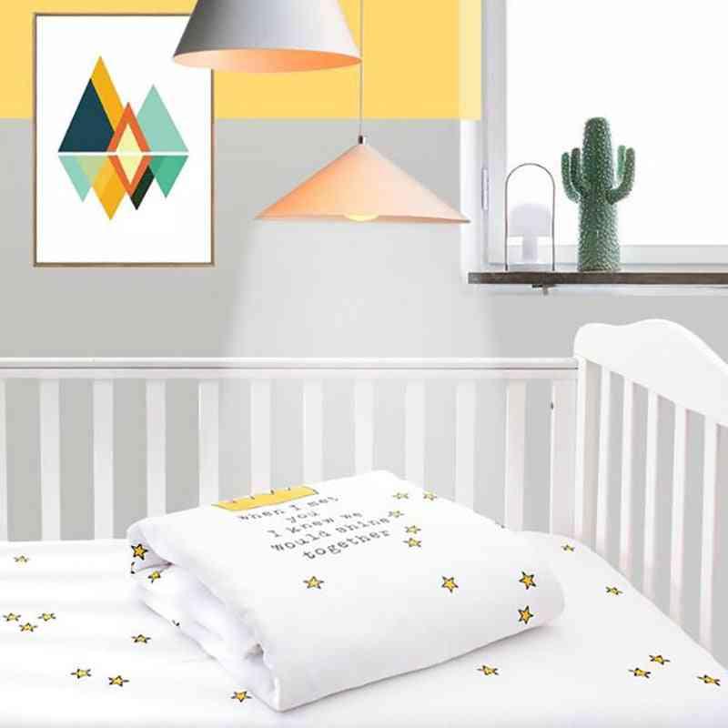 Baby Cartoon Crib Quilt Blanket