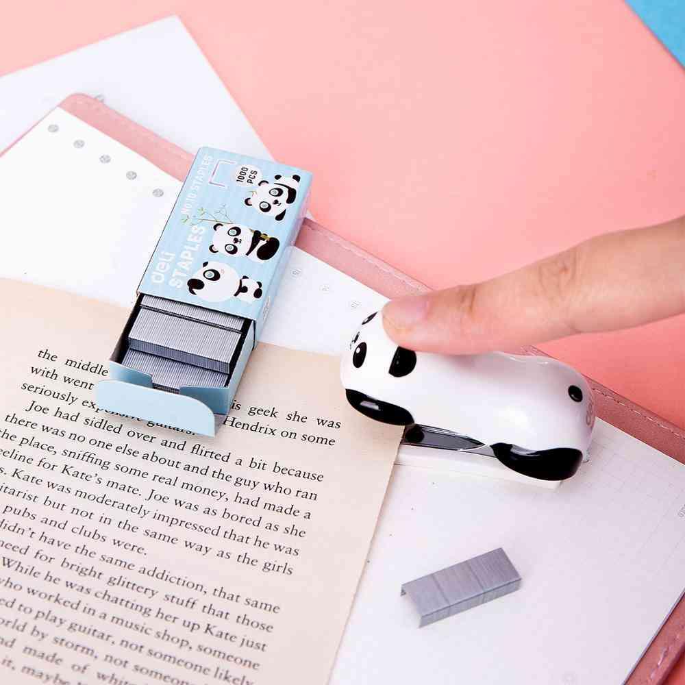 Cartoon Mini Stapler Set Stapling Machine