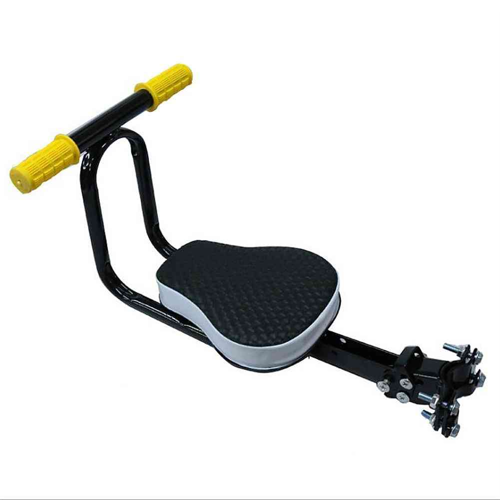 Metal Detachable Kid Bike Safety Front Seat, Protect Outdoor Bicycle, Carrier Extendable