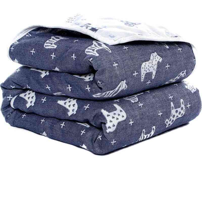 Baby Cotton Blanket, Six-layer Gauze,'s Bath Towel, Newborn Thin Quilt, Infant Air Conditioning Blankets