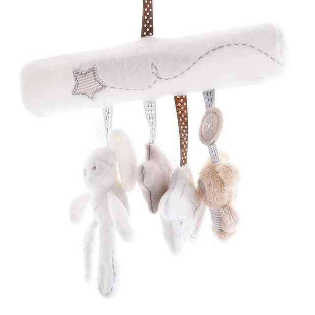 Baby Rabbit Stroller Accessories Hanging Plush Educational Toy