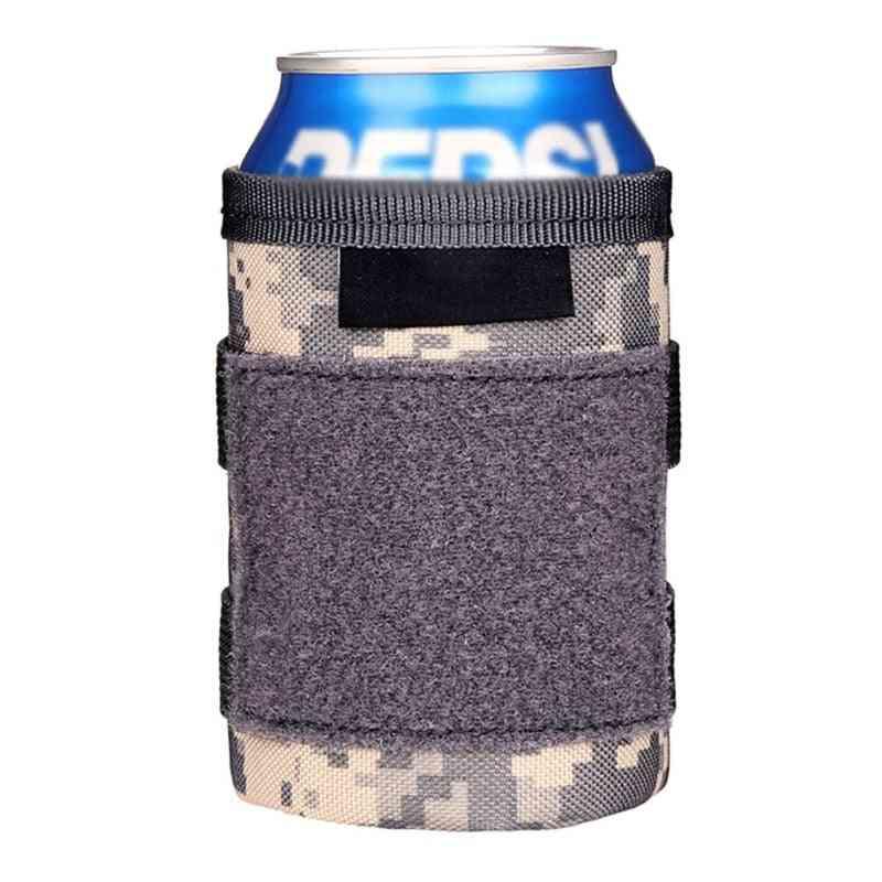 Christmas Ktv Bar  & Tactical Beer Bottle Set Beverage Cooler Cushion Cover