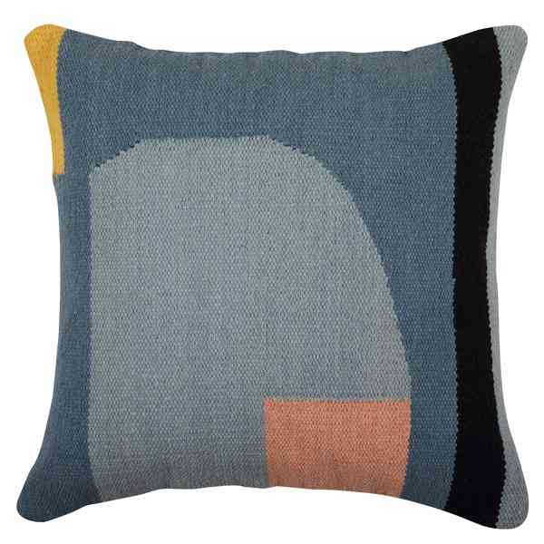 Geo Shapes Accent Cushion, Multi - 18x18 Inch