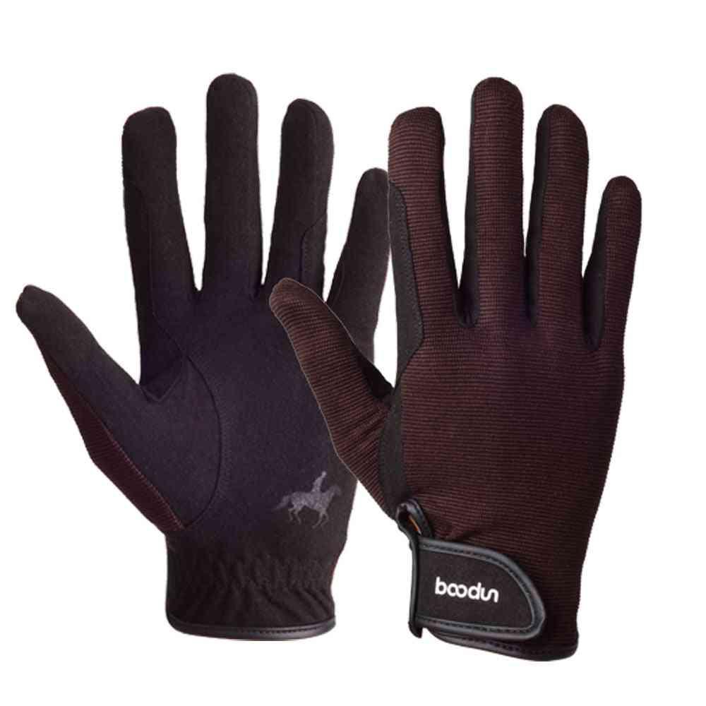 Horse Racing Gloves Equipment