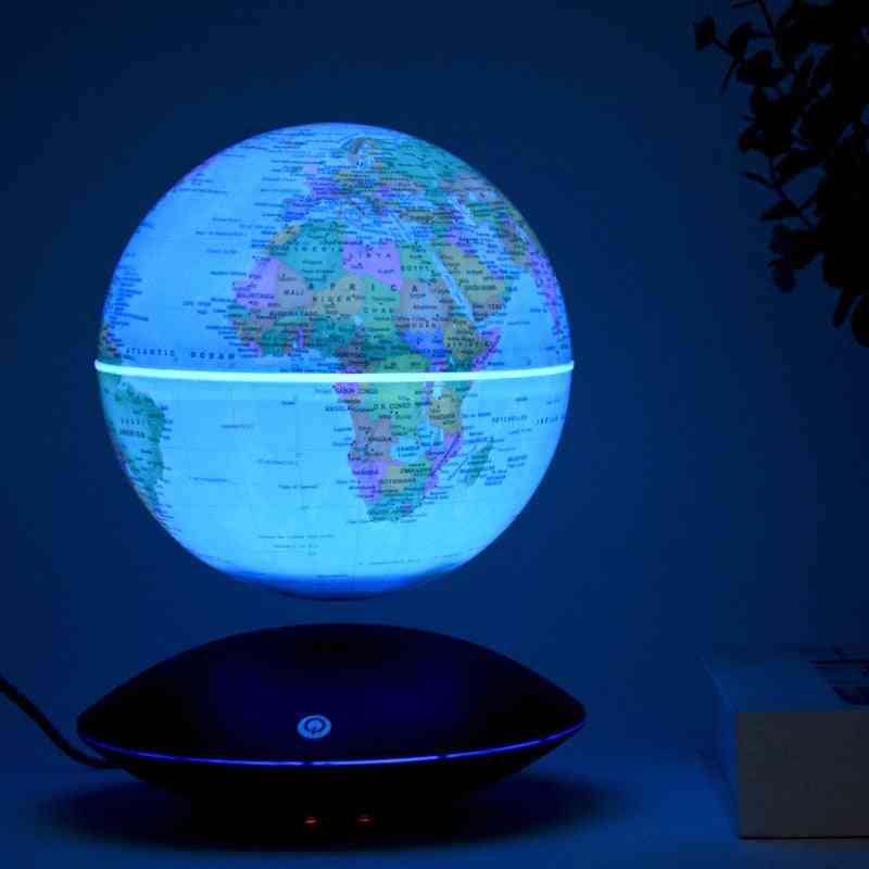 Printing Terrestrial Globe Levitation Moon Lamp Globe With Illumination Rotating Wireless Led Globe Office Business Supplies