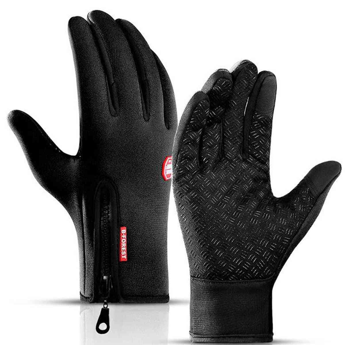 Unisex Touch Screen Windproof Ski Horse Riding Gloves