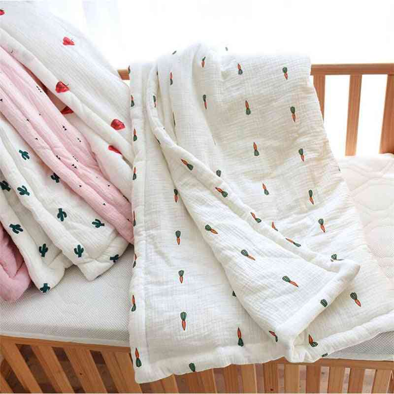 New Cotton Quilt Baby Air Conditioner Room Blanket, Baby Bed Quilt