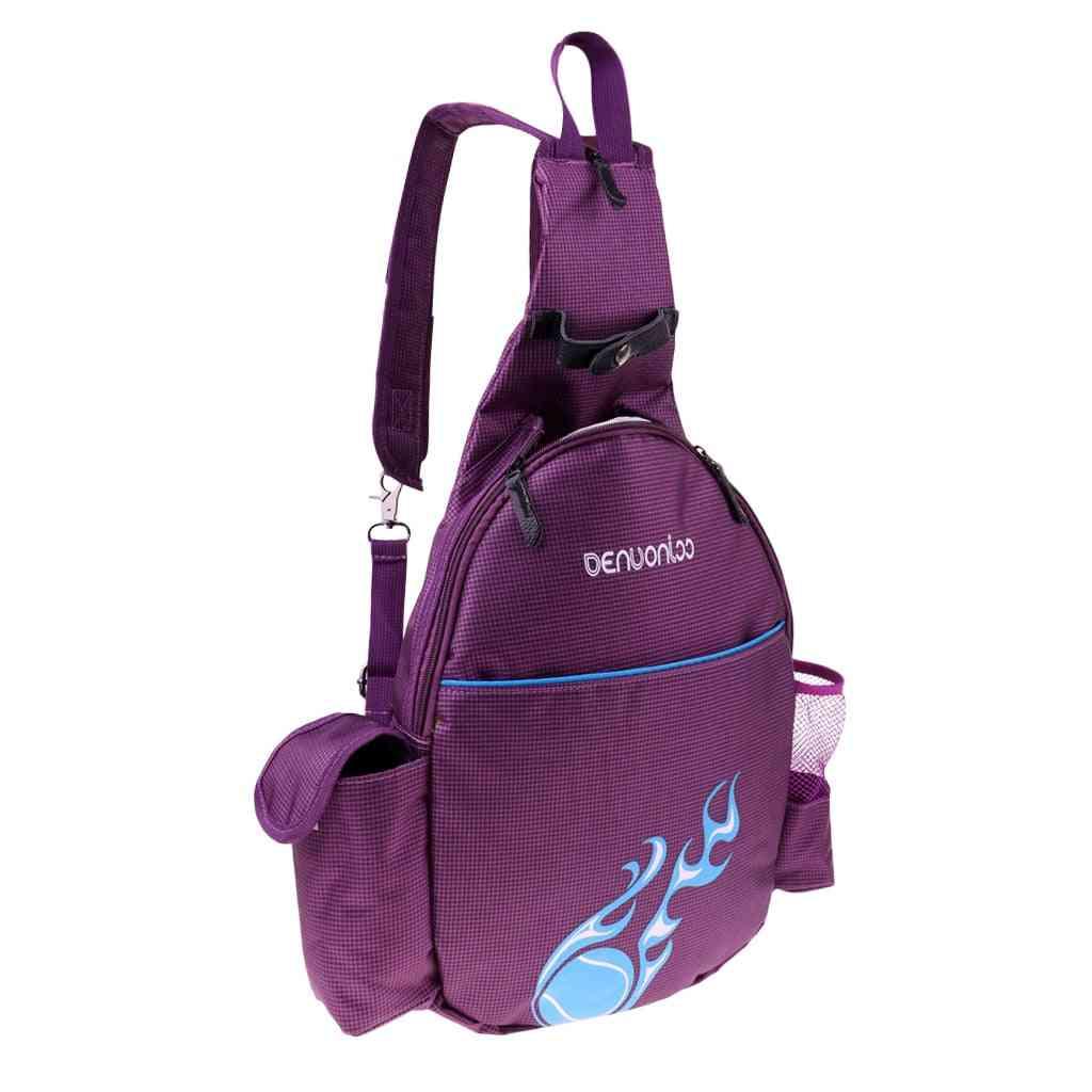 Waterproof Tennis Racket Backpack & Badminton Rucksack Shoulder Bag